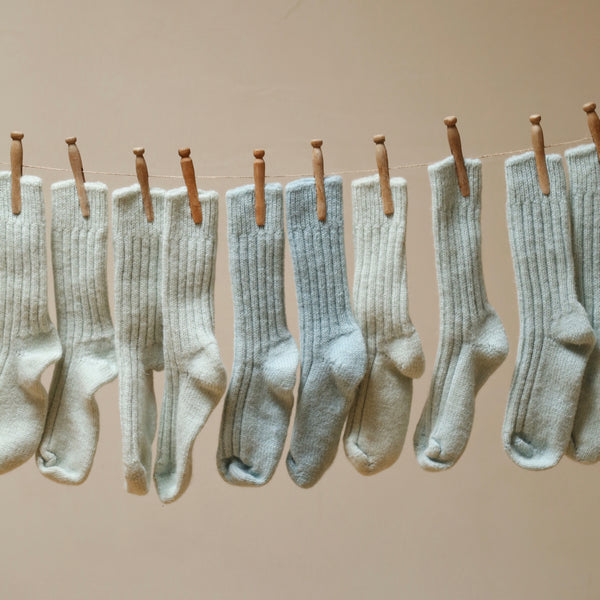 Pure wool socks for men and women