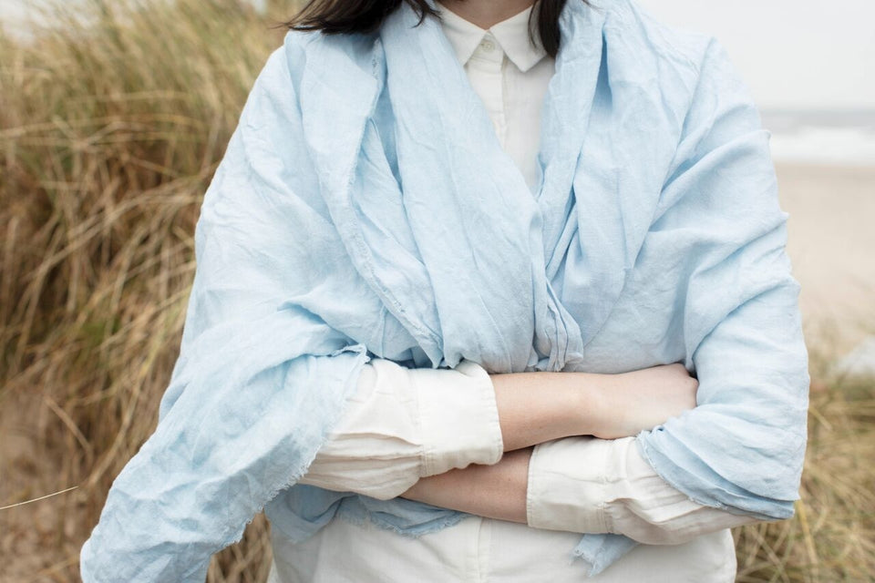Kathryn Davey Naturally Dyed Irish Linen textiles, homewares & accessories