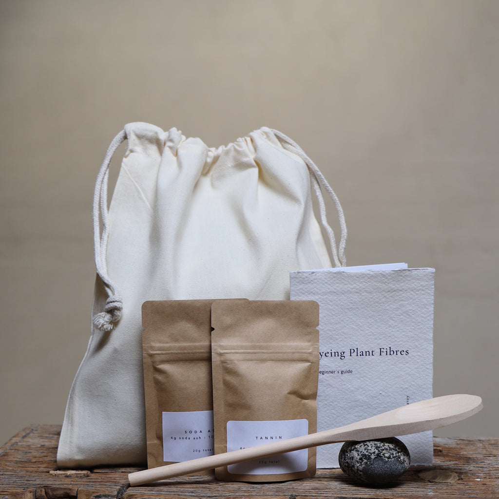 Natural dye kits for beginners