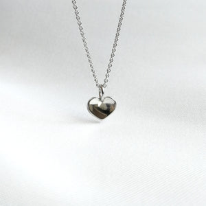 Love Reflection Halsband silver 925