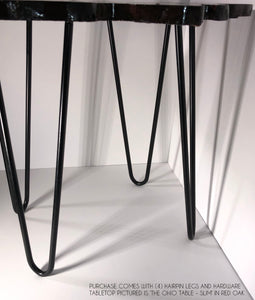 the Ohio Table hairpin legs