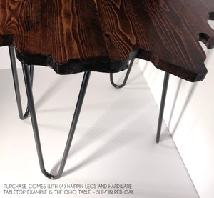 The Ohio Table - Rustic Brown