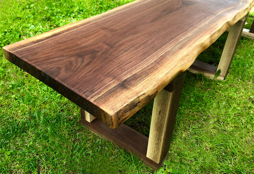 The Forrest Live Edge Bench