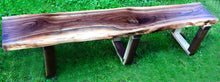 Load image into Gallery viewer, The Jenny Live Edge Bench