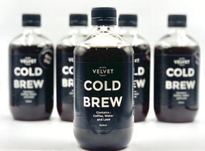 500ml Cold Brew available NOW!