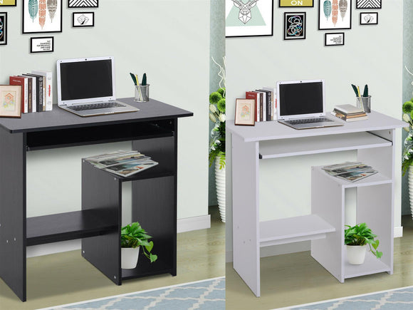 COMUTER DESK WITH TRAY