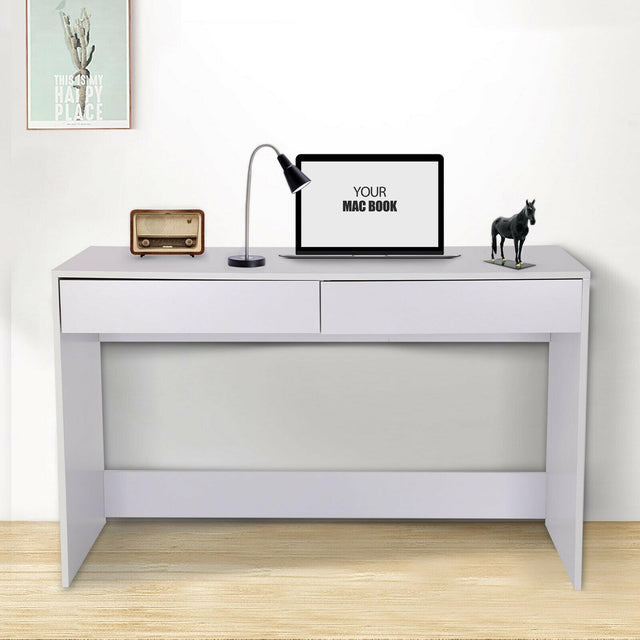 COMPUTER DESK WITH 2 DRAWERS