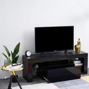 LED TV STAND 130CM -BLACK