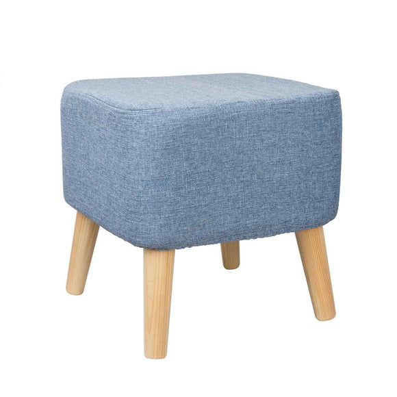 FSS-02 SQUARE BLUE FOOTSTOOL