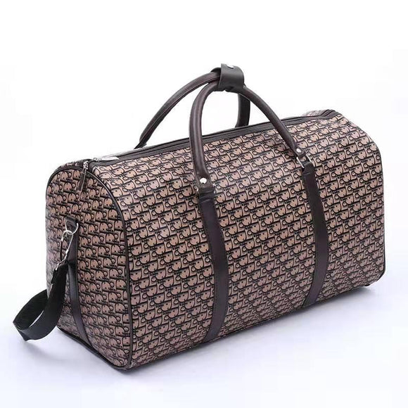 FLAT HOLDALL BAG - COFFEE