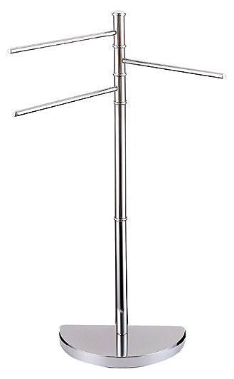 3 ARM SWIVEL FREE STANDING TOWEL RAIL STAND
