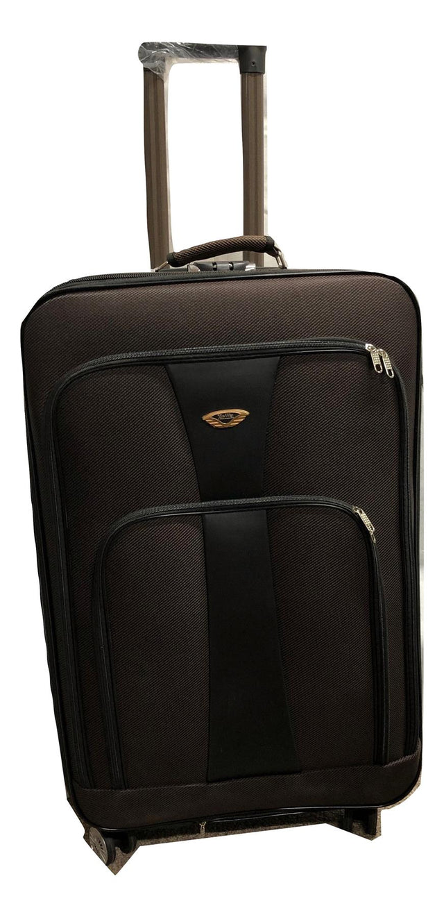 COFFEE NYLON SOFT SUITCASE