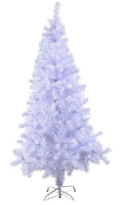 White Artifical Xmas Tree with Metal Stand