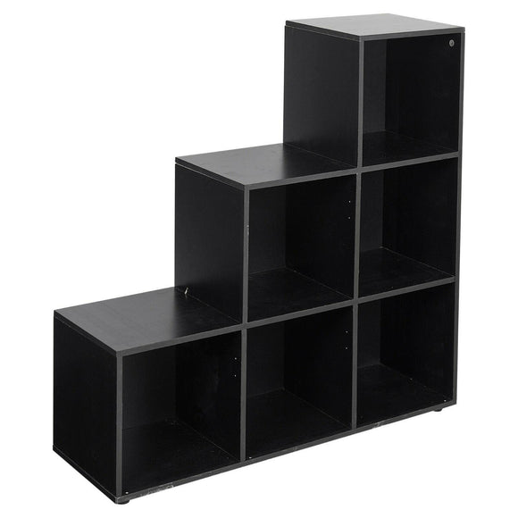 1-2-3 STEP BOOKSHELF - BLACK