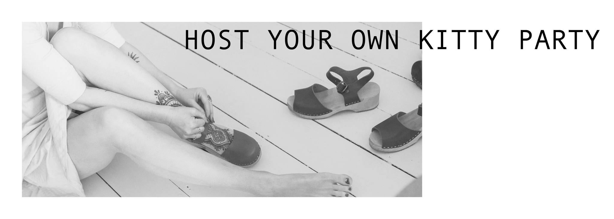 Host your own Kitty Clogs Party