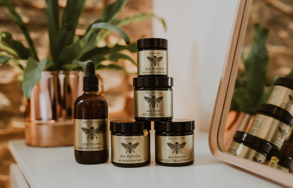 Bee potion natural skincare range