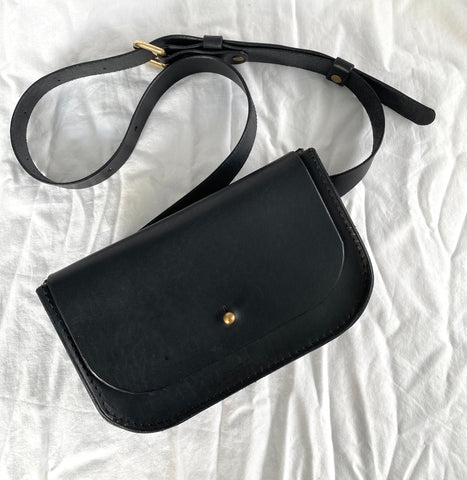 Paula Kirkwood Belt Bag black