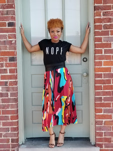 Multi Colored Skirt