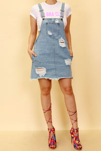 """Overalls"" distressed"