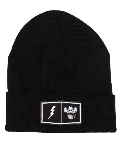 "Beanie ""Patch"" black"
