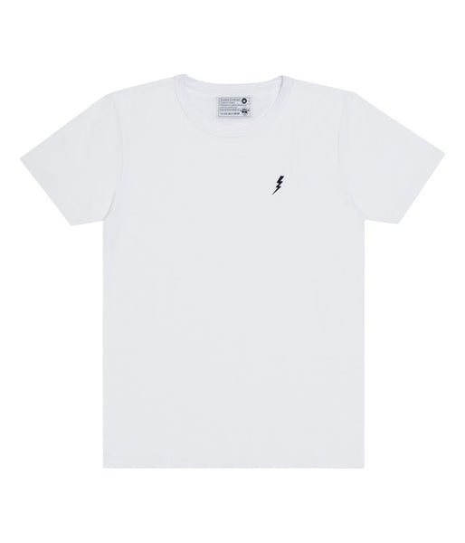 "T-Shirt ""Lightning"" White"