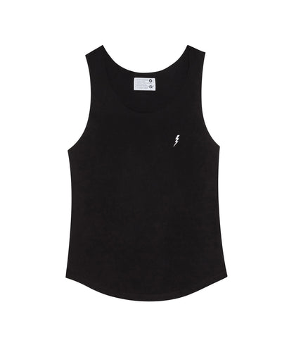 "Tanktop ""Lightning"" Black"