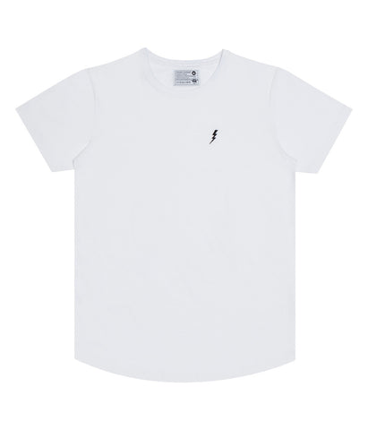 "Long T-Shirt ""Lightning"" White"