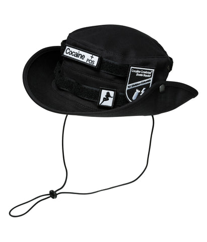 Velcro Hat Black