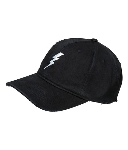 "Destroyed Baseball Cap ""Lightning"""