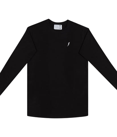 "Longsleeve ""Lightning"" Black"