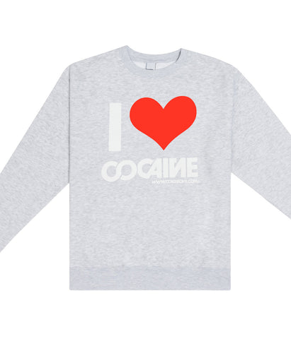 I Love Cocaine Crewneck