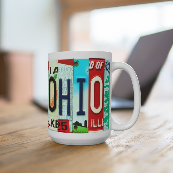 Ohio NEW! 2 sided Mug 15oz (Free Shipping)