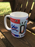 Ohio Coffee mug with free shipping