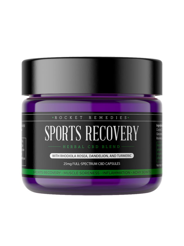 CBD Capsules for Sports Recovery