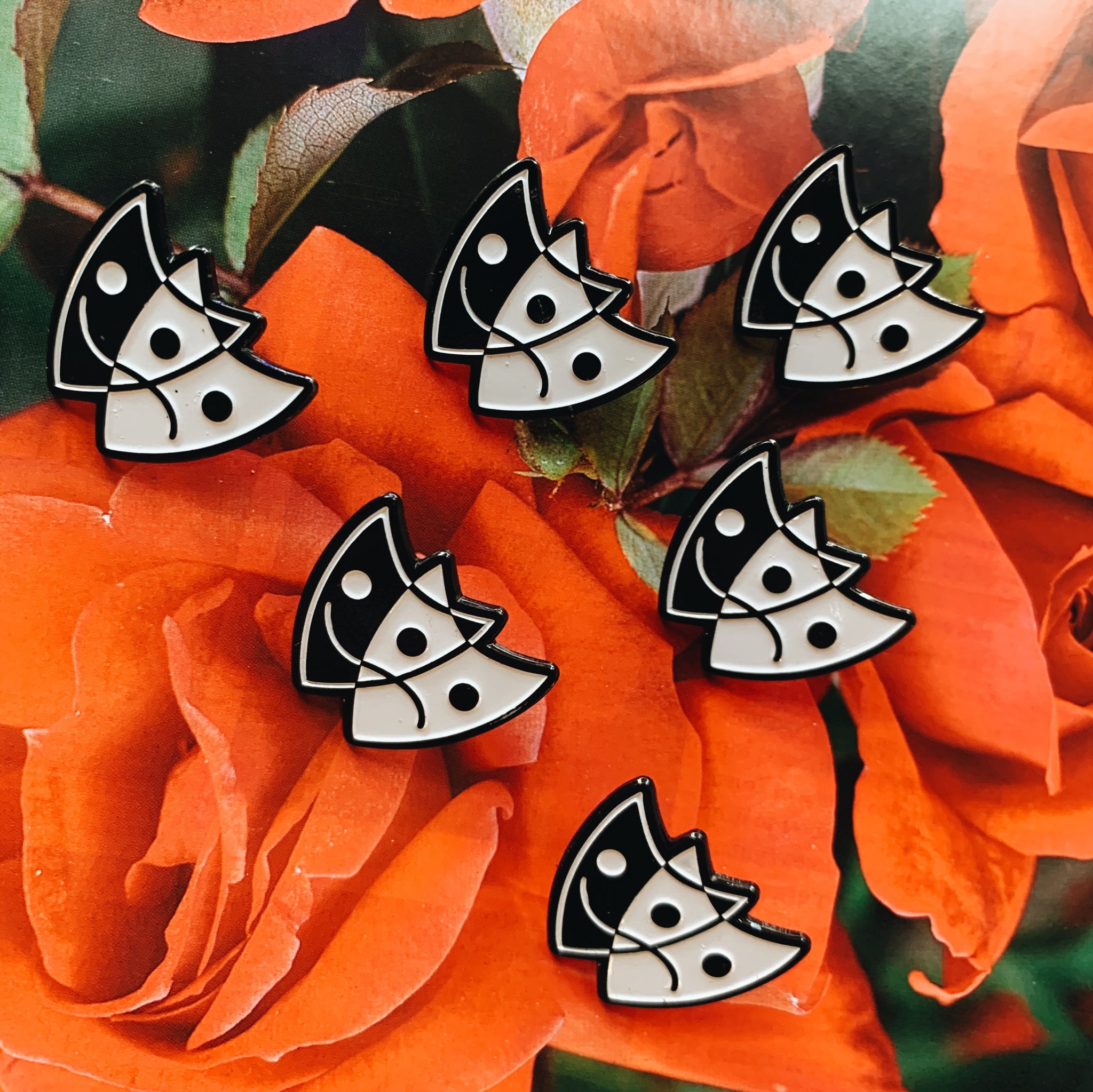 Tragedy Masks Pin