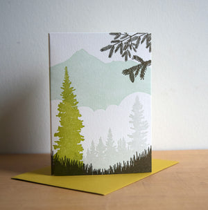 Alpine Meadow Card
