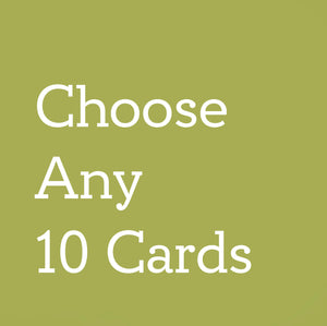 Ten Assorted Greeting Cards