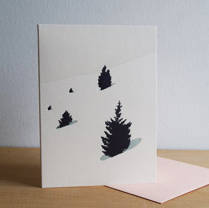 Timberline Forest Card