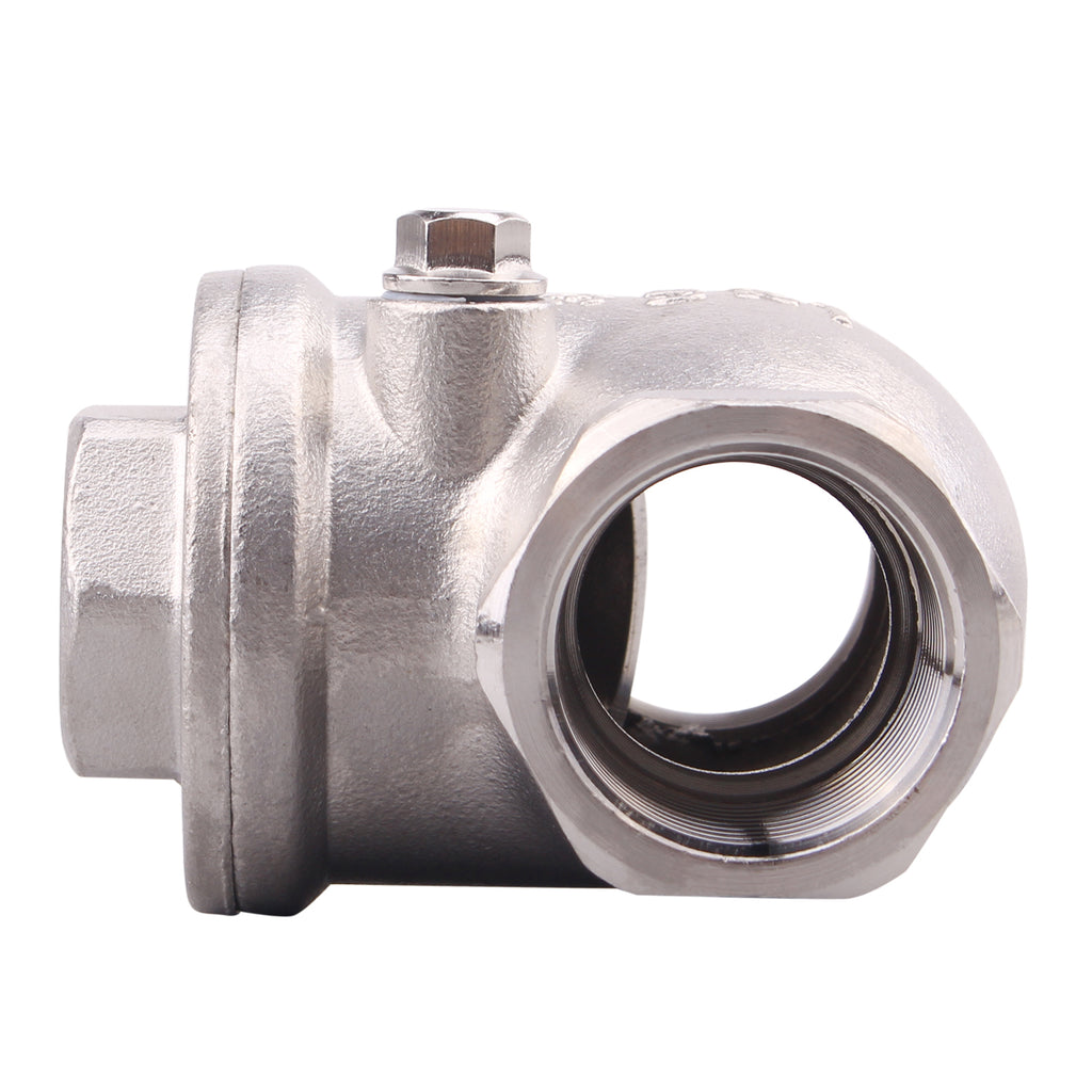 Swing Check Valve Stainless Steel | Female WOG 200 PSI SS304 CF8M Rust Free
