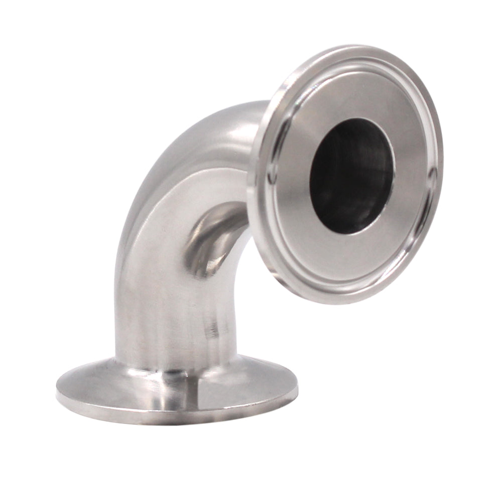 Sanitary Fitting | Ferrule Elbow 90 Degree | Pipe Fitting SUS304 Tri Clamp