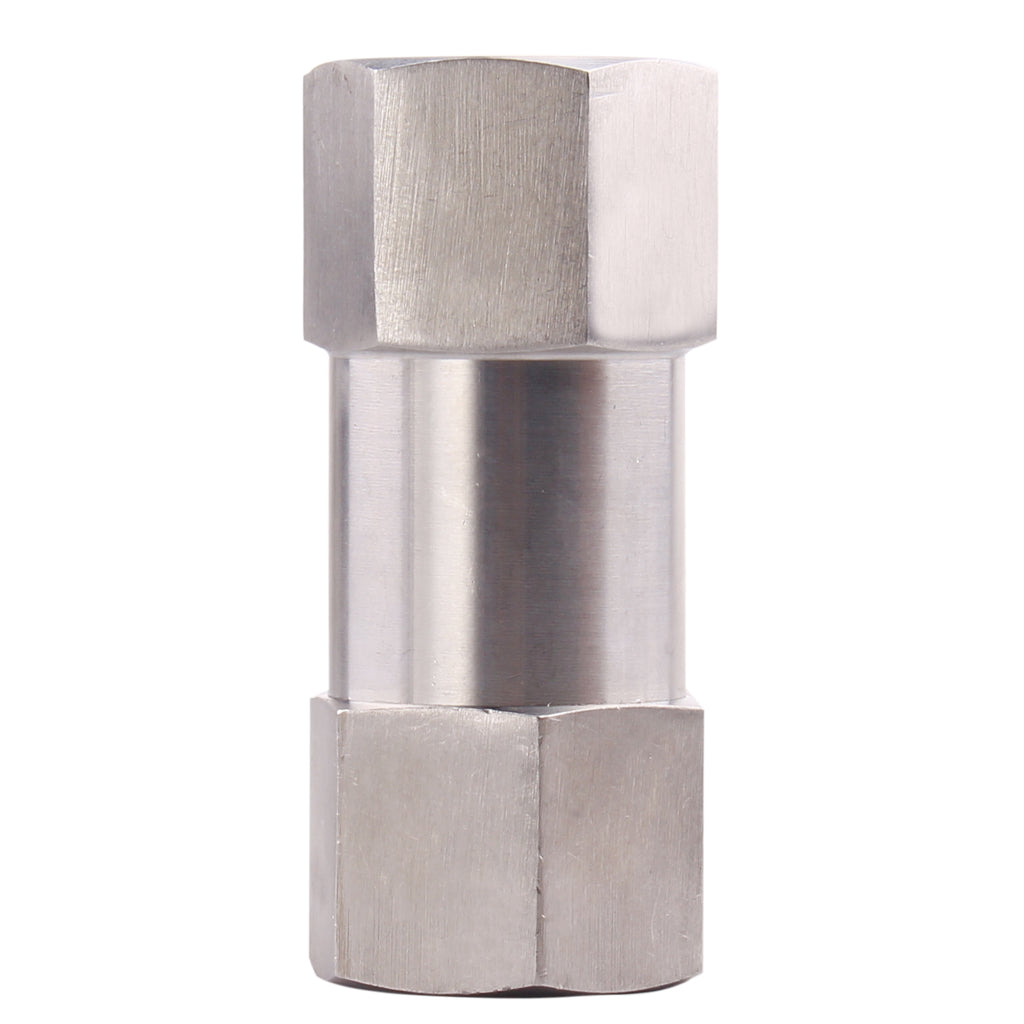 Stainless Steel Check Valve | High Pressure 70 PSI Cracking Pressure One Way Check Valve PTFE Seal