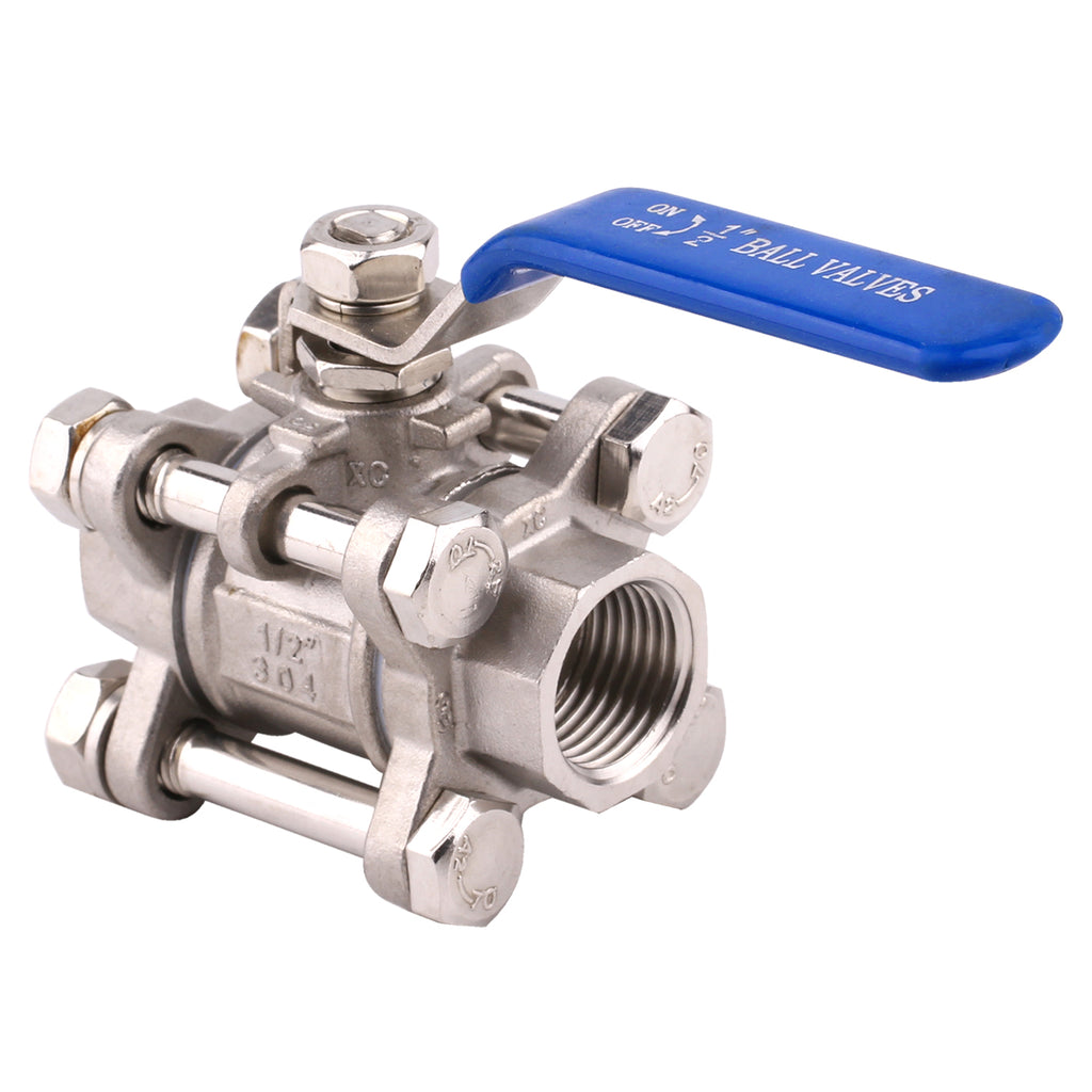 3 Piece Full Port Ball Valve