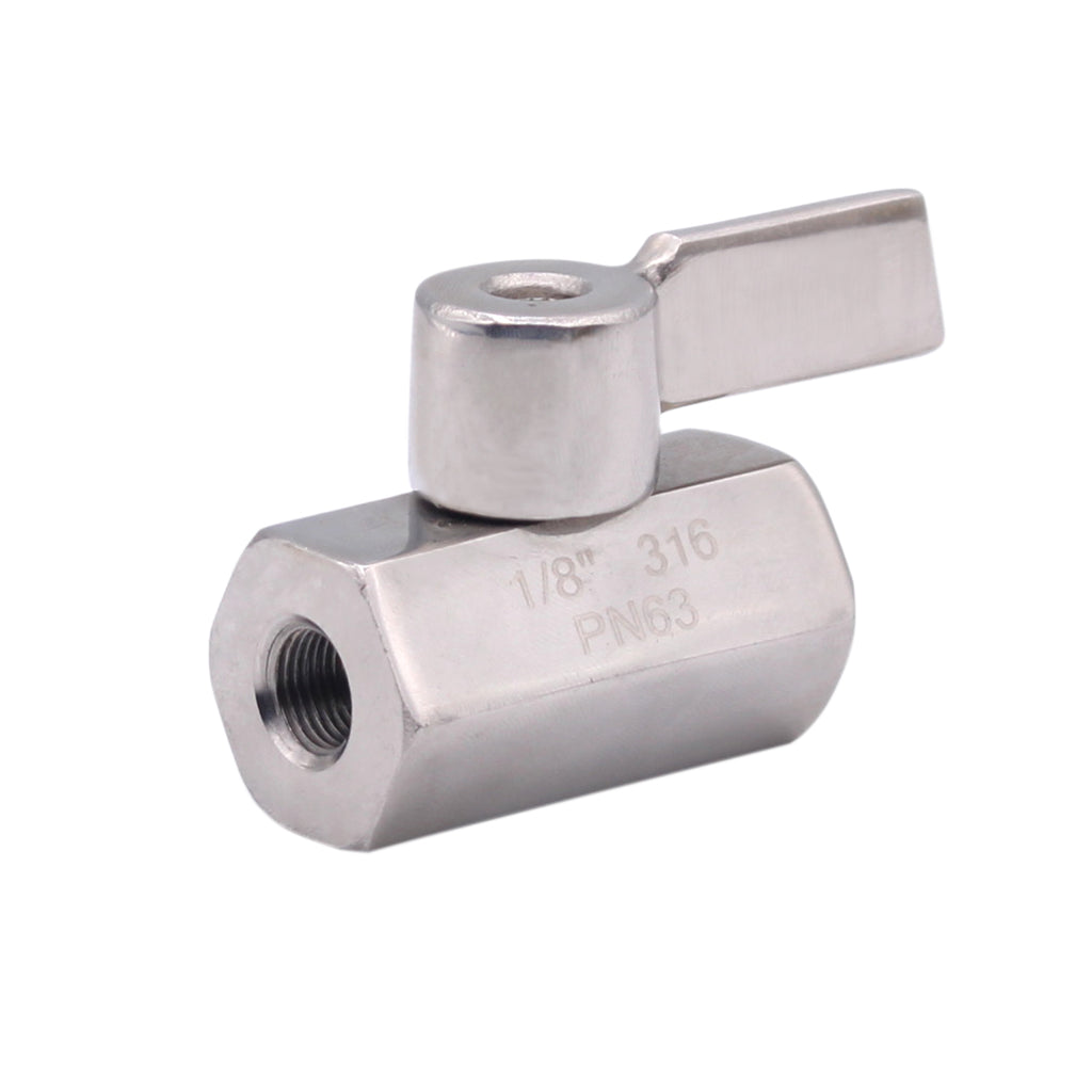 mini ball valve stainless steel