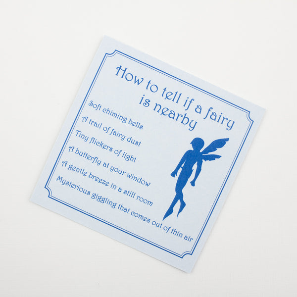 First Tooth Blue Personalised Tooth Fairy Letter Fairy Dust Gift Bags