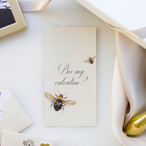Personalised Will You Bee My Valentine