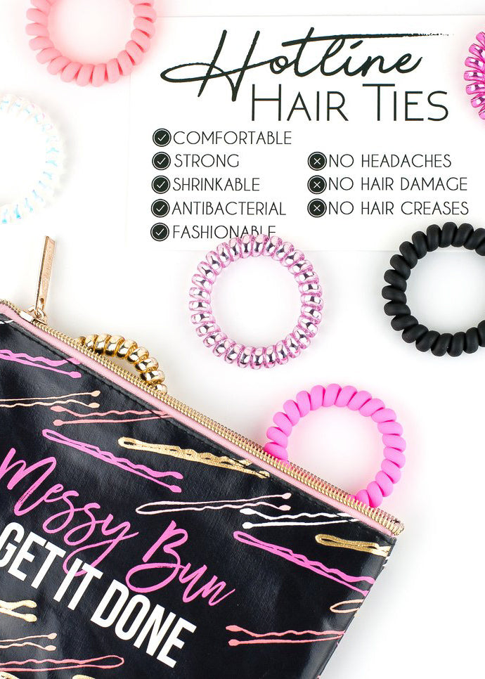 surprise hot line hair tie - Mint