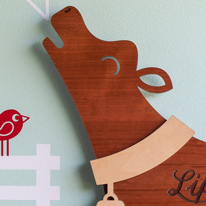 "Cow Wooden Wall Sign ""Life is better on the farm"""