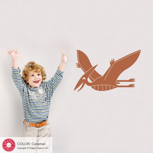 Pterodactyl Dinosaur Wall Decal