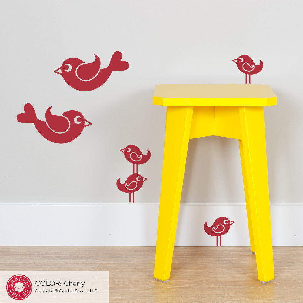 ... Bird Wall Decals: Small Pack ...