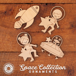 outer space christmas ornaments